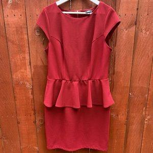 Mossimo Supply Co. Peplum Dress